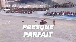 France: Le défilé du 14 juillet était parfait, sauf pour ce petit