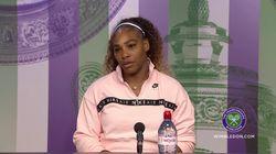 La aplaudida respuesta de Serena Williams a por qué no deja de luchar por la