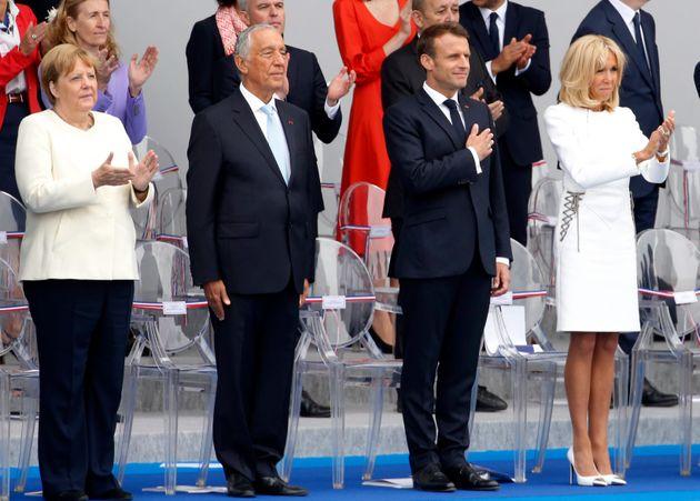 La Bastiglia dell'amicizia d'acciaio franco-tedesca