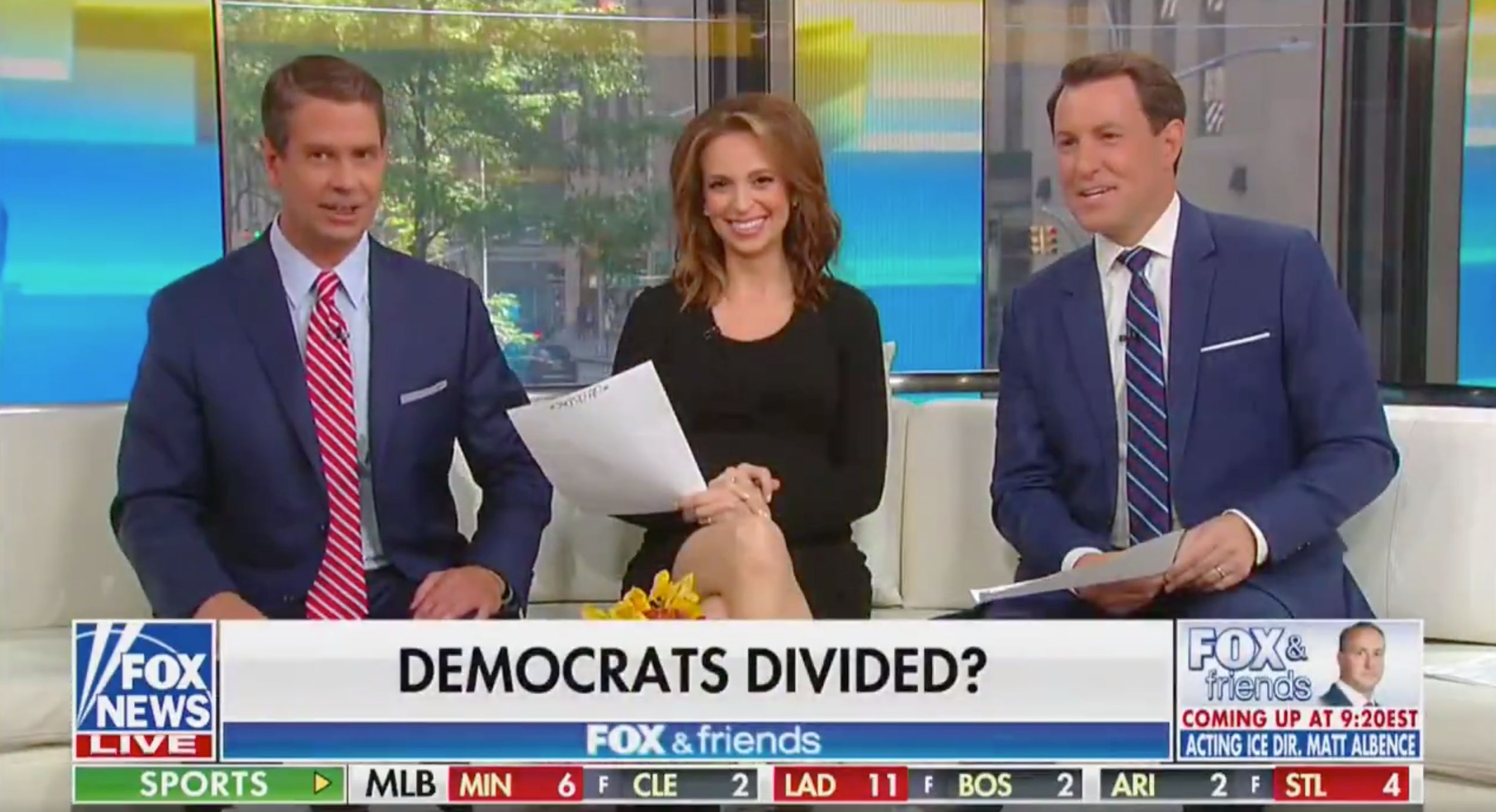'Fox & Friends' Hosts Fawn Over Trump'...