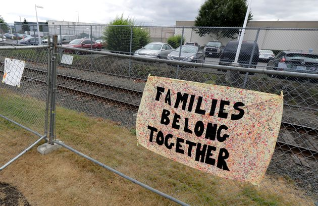 The detention center, seen here in 2018, holds migrants pending deportation proceedings as well as immigration-seeking...