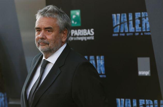 Luc Besson à la première du film