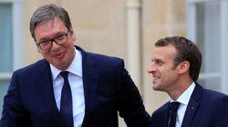 Macron en visite en Serbie, une première pour un président français depuis