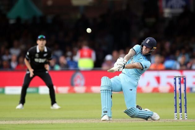 England's Ben Stokes in action during the ICC World Cup Final at Lord's,