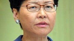 香港の林鄭月娥行政長官、辞任申し出か 中国政府は拒否