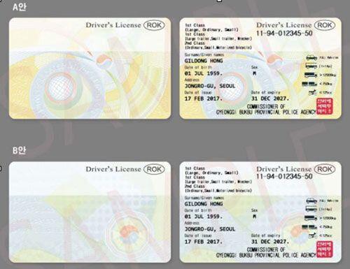한국서 발급받은 면허증 그대로 외국에서 사용