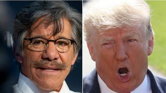 Geraldo Rivera, Donald Trump
