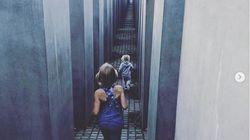 Pink: Απαντά στην σκληρή κριτική που δέχτηκε για την φωτογραφία με τα παιδιά της να τρέχουν στο Μνημείο του
