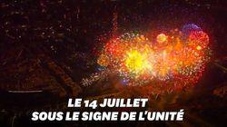 Du concert au feu d'artifice, les festivités du 14 juillet à Paris ont séduit tout le