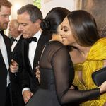 Meghan Markle Shares Warm Hug With Beyoncé At Lion King