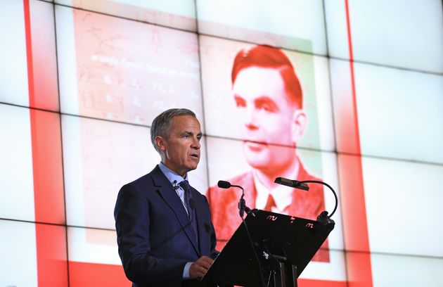 Governor of the Bank of England, Mark Carney, during the