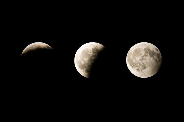 Guía para no perderte nada del eclipse parcial de Luna del 16 de
