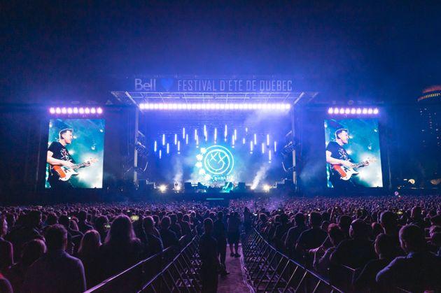 The Offspring et Blink-182: un parfait doublé pour clore le Festival d'été de
