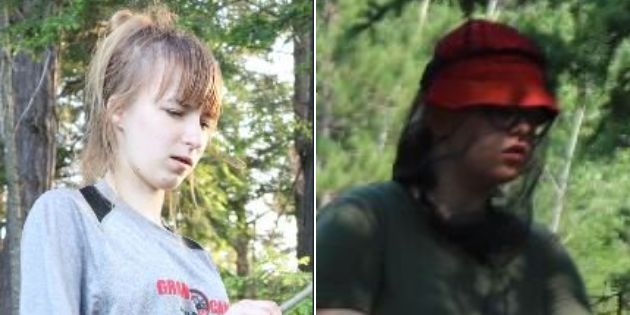 Maya Mirota, left, and Marta Malek were reported missing after they last seen on the Western Uplands...