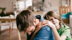 Por qué deberías llorar delante de tus hijos alguna