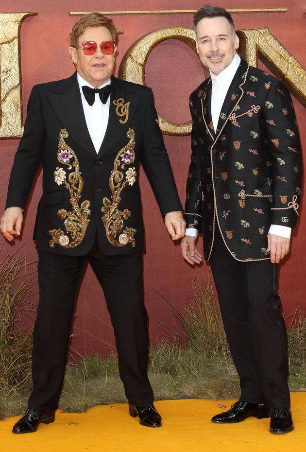 Elton John et Dvid