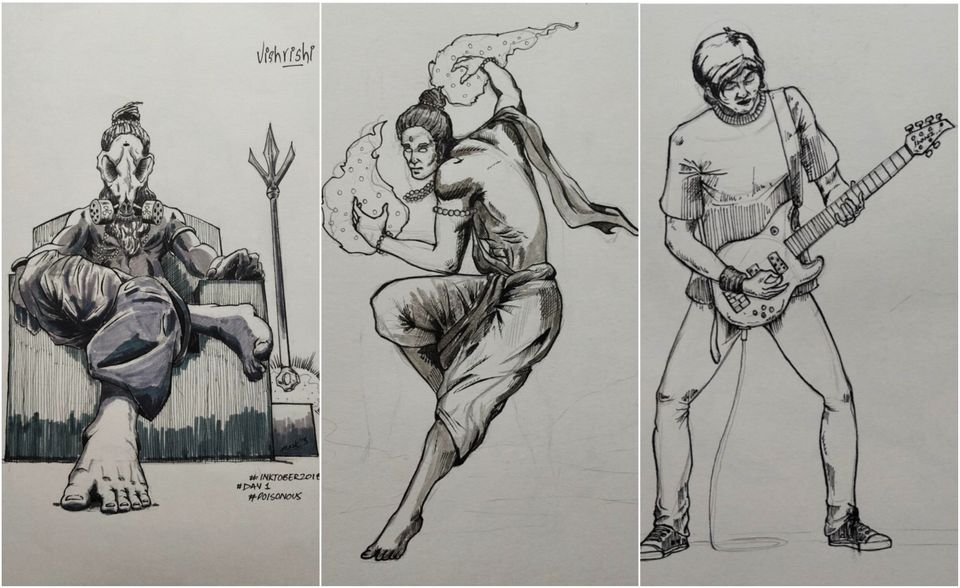 In the graphic novel, The Superhero Journals, set in Varanasi, four teenagers-turned-superheroes...