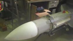 Un arsenal de guerre dont un missile saisi chez des sympathisants italiens d'extrême