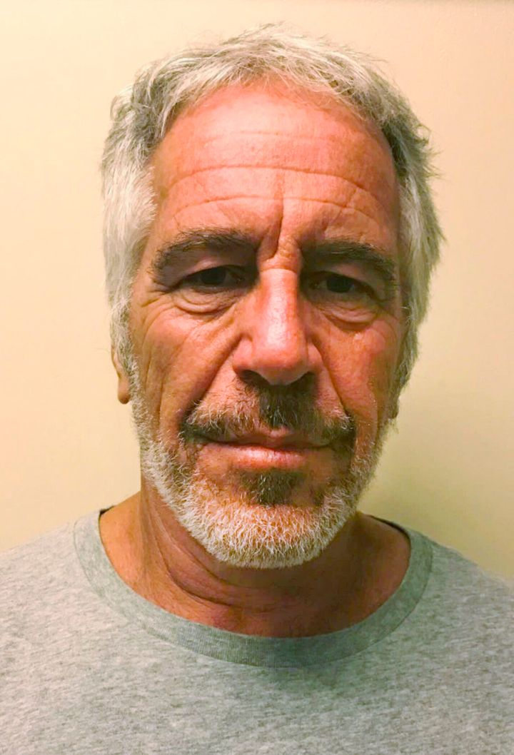 Jeffrey Epstein is seen in a photo provided by the New York State Sex Offender Registry. The wealthy financier recently plead