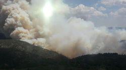 Un incendio en Beneixama (Alicante) obliga a desalojar a 30
