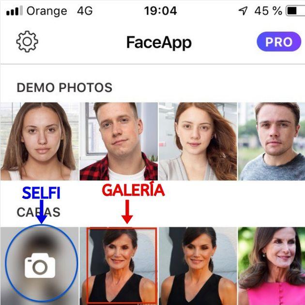 ¿Cómo será Letizia de mayor? Sometemos a la reina a FaceApp, la aplicación de moda que te enseña cómo...
