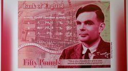 Alan Turing, 1re effigie LGBT d'un billet de banque au