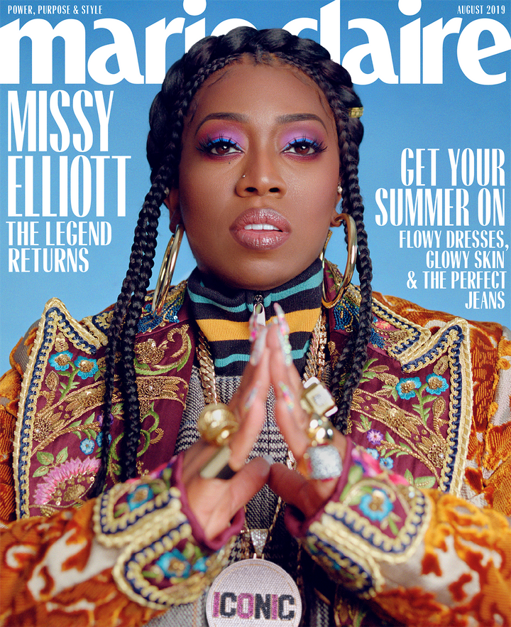 Missy Elliott covers Marie Claire