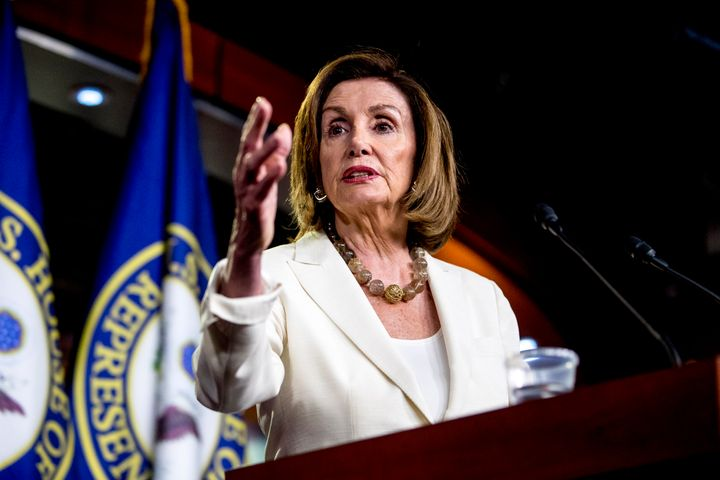 Nancy Pelosi Says House Dems Are Drafting Resolution Condemning Trump's Racist Tweets