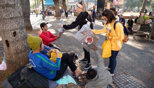 Anote: Estas são formas de ajudar os moradores de rua de São Paulo nos dias de