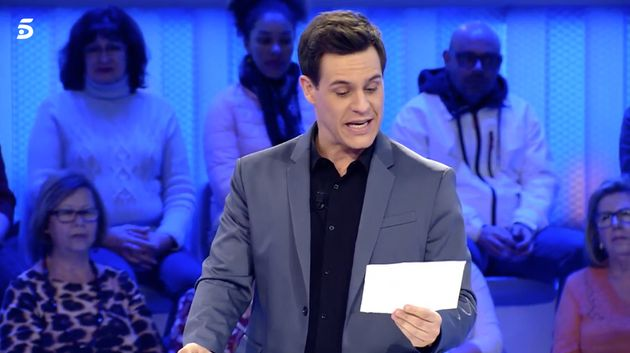 Christian Gálvez rompe el protocolo de 'Pasapalabra':