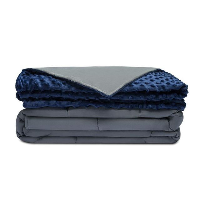 Right now, you can grab the Quility Premium Adult Weighted Blanket with a removable cover for $10- to...