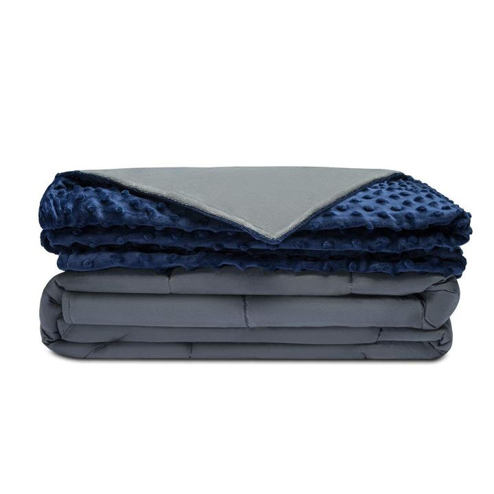 "Right now, you can grab the <strong><a href=""https://amzn.to/2lyvS3h"" target=""_blank"" rel=""noopener noreferrer"">Quility Premium Adult Weighted Blanket with a removable cover for $10- to $20-off this Prime Day</a></strong>."