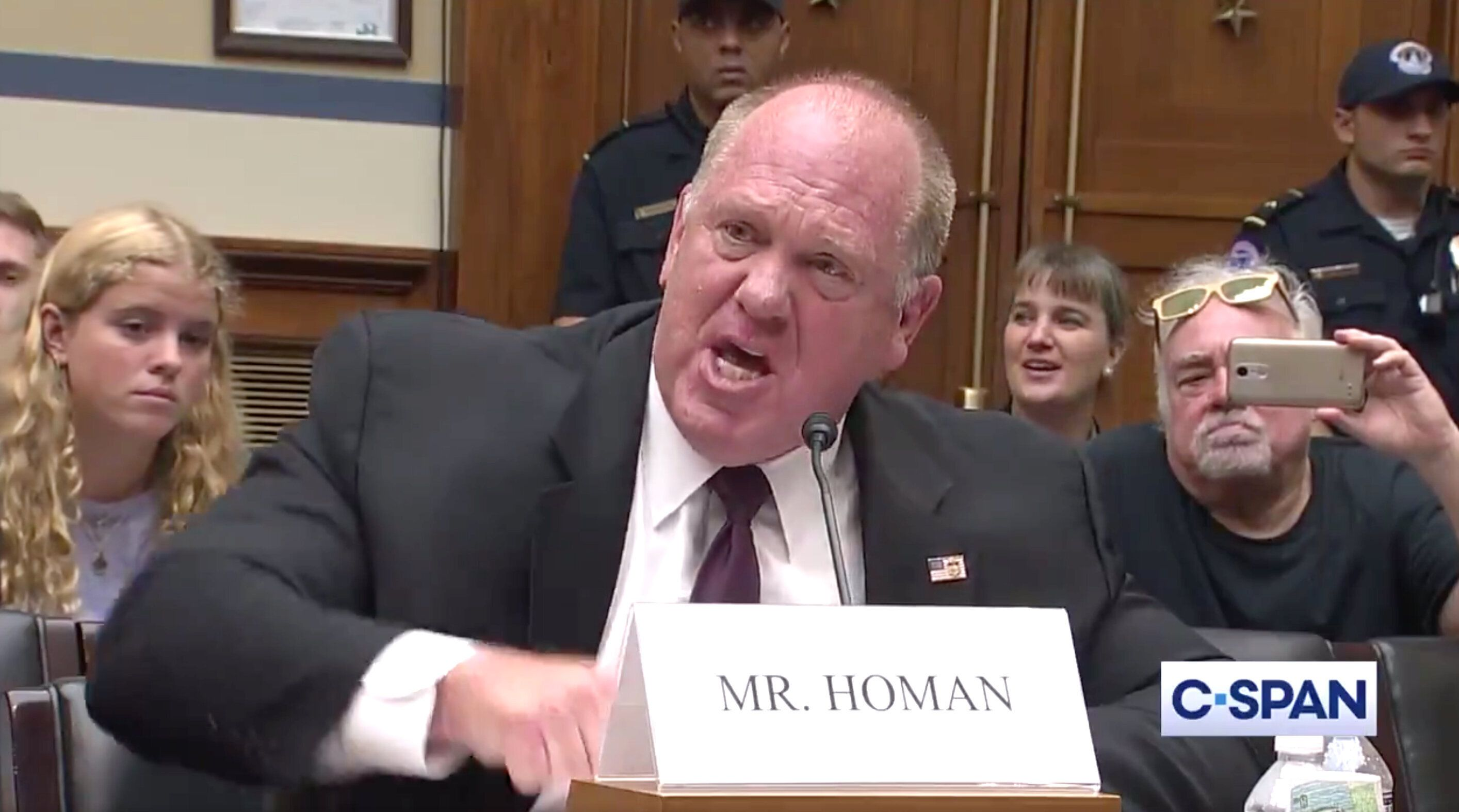 Ex-ICE Chief Thought About 'Beating' Congressman During ...