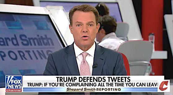 Fox News' Shepard Smith Slams Trump'...