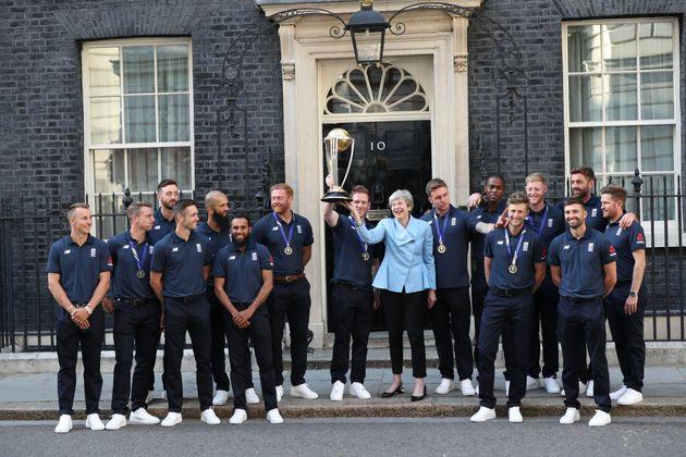Cricket World Cup: Theresa May Hails England Heroes As 'Representing Modern