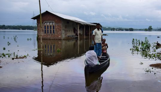 Floods Displace Over 4 Million People In Assam, More Rains Forecast In