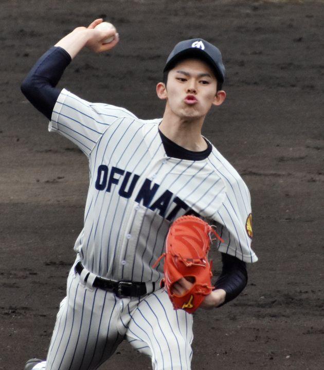大船渡・佐々木投手(2019年3月)