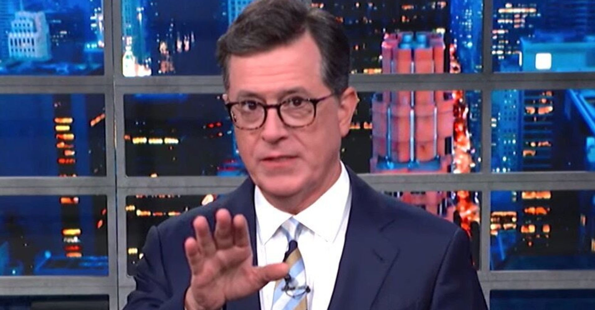 Westlake Legal Group 5d2d4b322400008c1793599c Colbert Nails The Real Problem With Trump's Racist Attacks On Democrats