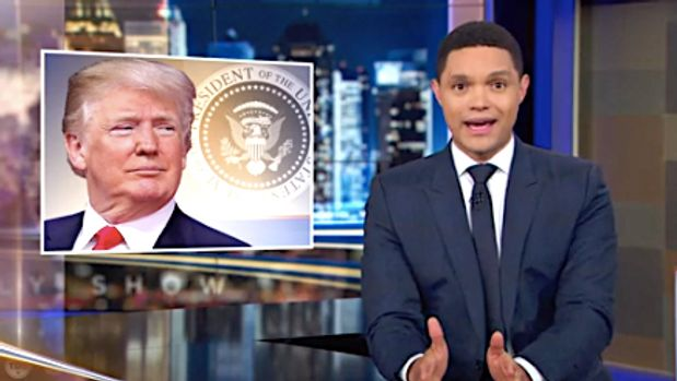Trevor Noah compares Donald Trump to Hitler