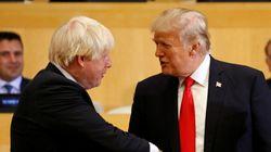 Même Boris Johnson trouve les propos de Trump