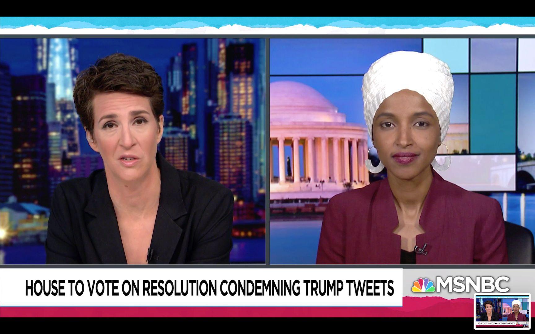 Ilhan Omar Slams Trump's Racist ...