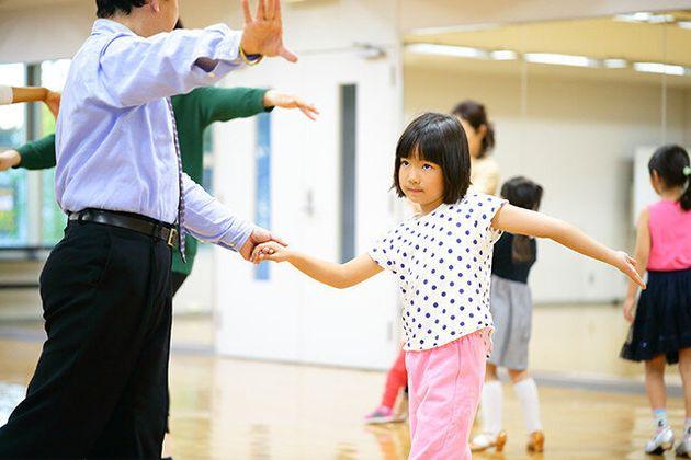 ダンス教室インストラクターと生徒さん
