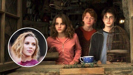 La 'aparición' de Scarlett Johansson en 'Harry Potter' que no debes