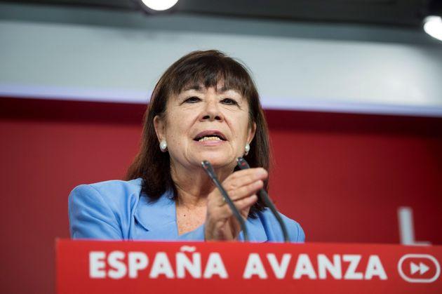 Narbona asegura que el PSOE no va a pedir nada a ERC