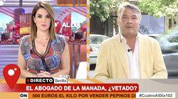 Carme Chaparro se encara en pleno directo con el abogado de La Manada: