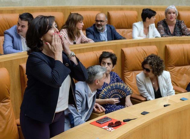 Podemos tumba la investidura de la candidata del PSOE en La Rioja: