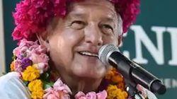 López Obrador, en FaceApp, es igual a Mamá