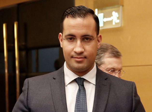 Alexandre Benalla face à la commission du Sénat en janvier