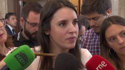 """Montero pide a Sánchez que reabra las negociaciones y """"acabe con vetos y líneas"""
