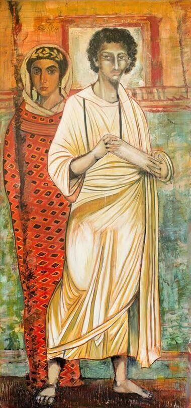 Ρωμανός ο Μελωδός, λάδι...